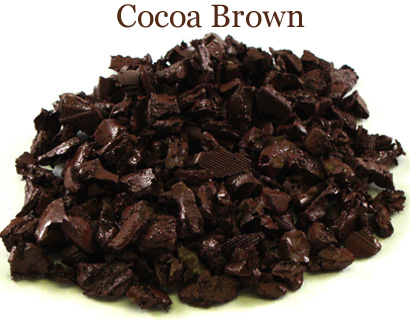 pic of cocoa brown rubber playground mulch