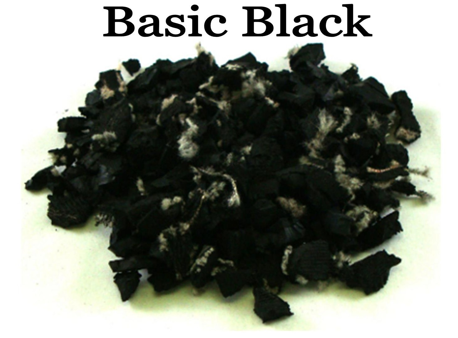 pic of basic black rubber playground mulch