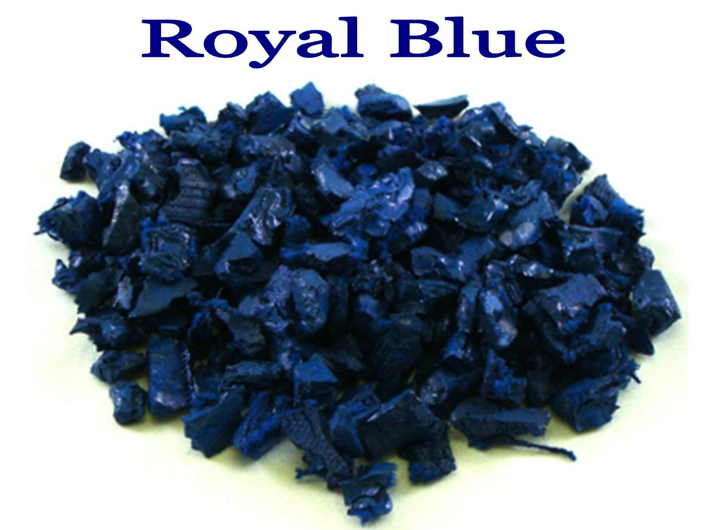 pic of blue rubber playground mulch